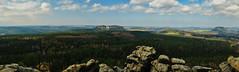 Panorama vom Gohrisch (lebastian) Tags: panasonic dmcgx8 olympus m1240mm f28 sachsen saxony switzerland mountain berge panorama