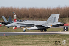 C.15-28 Spanish Air Force (Fuerza Aerea Española) McDonnell Douglas EF-18A Hornet (EaZyBnA - Thanks for 2.000.000 views) Tags: c1528 spanishairforce fuerzaaereaespañola mcdonnelldouglas ef18ahornet spain spainairforce eazy eos70d ef100400mmf4556lisiiusm europa europe 100400isiiusm 100400mm canon canoneos70d ngc nato military militärflugzeug militärflugplatz mehrzweckkampfflugzeug autofocus airforce aviation air airbase approach mcdonnelldouglasef18a hornet ef18a luftwaffe luftstreitkräfte luftfahrt planespotter planespotting plane flugzeug leeuwarden leeuwardenairbase airbaseleeuwarden vliegbasisleeuwarden netherlands vliegbasis holland exercise exercisefrisianflag frisianflag ehlw warbirds warplanespotting warplane warplanes wareagles jet jetnoise kampfflugzeug