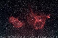 Coeur et Âme RGB + R (achrntatrps) Tags: d5300 suivi nikkor afs70200mmf28g nightshot nikon photographe photographer alexandredellolivo dellolivo lachauxdefonds suisse nuit night nacht achrntatrps achrnt atrps radon200226 radon etoiles stars sterne estrellas stelle astronomie astronomy noche notte astrophotographie twin1isr2 eosforastro astrotrac320x ic1805 ic1848 cassiopée cassiopaia nébuleuseducoeur heartnebula nébuleusedelâme soulnebula sharpless2190 sharpless2199 lbn667 emissionnebulae nébuleusesenémission halpha heart coeur soul lâme emissionalpha westerhout5 lpsv4n5 kenkor1 astrometrydotnet:id=nova2510218 astrometrydotnet:status=solved