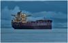 Twilight Freighter - Long Exposure (westcoastcaptures) Tags: ship juandefuca longexposure ocean night twilight tripod 600mm sonya99ii minoltaaf300mmf28apoghs minoltaapoii2xteleconverter