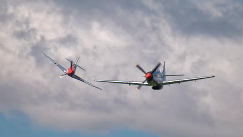 Yak 3 & P-51 Mustang