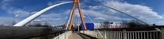 Most. (andrzejskałuba) Tags: polska poland dolnyśląsk silesia polkowice europe panasoniclumixfz200 widok view most bridge niebo sky niebieski blue chmury clouds
