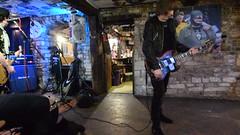 DSC_0049 (richardclarkephotos) Tags: tim bish joey luca © richard clarke photos derellas three horseshoes bradford avon wiltshire uk lone sharks guitar bass drums guitarist drummer bassist band bands live music punk