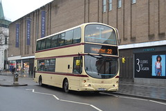 First Volvo B7TL 46 KP54AZL - Leicester (dwb transport photos) Tags: first volvo wright eclipse gemini bus dcker 32646 kp54azl leicester