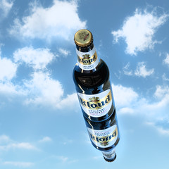 Kloud in the Sky (sofiasamarah) Tags: approved kloud beer ad advertisement sky clouds drinks beverate beverage sofia samarah photography