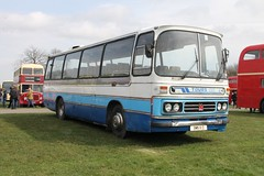 BMN-111-D Bedford YRQ / Duple Dominant - Protours (Isle of Man) 45 (Ray's Photo Collection) Tags: detling bedford duple isleofman dominant 45 iom bmn111d protours transport show countyshowground maidstone kent england uk bus buses coach coaches rally southeast yrq