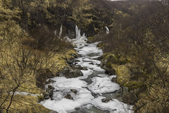 Parque nacional Skaftafell (José M. Arboleda) Tags: paisaje cielo nieve frio río agua cascada columna basalto roca risco acantilado svartifoss magnúsarfoss hundafoss skaftafell nationalpark eos markiv josémarboledac ef1635mmf4lisusm canon 5d