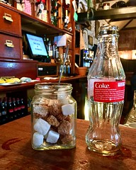 A Sweet Shot (Julie (thanks for 9 million views)) Tags: sugar coke drink bottle bar thelocal pub sugarcubes 2018onephotoeachday iphonese beverage