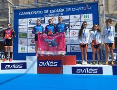 #FETRIAvilés Alba Álvarez campeonato España Duatlón team clavería 4
