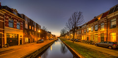 Brouwerskade, Haarlem. (Alex-de-Haas) Tags: oogvoornoordholland 11mm d850 dutch februari hdr haarlem holland irix nederland nederlands netherlands nikon noordholland photomatix avond binnenstad bluehour building canal capital center centrum city dusk gebouw hoofdstad house houses huis huizen innercity kanaal life nacht night schemering stad stadsfotograaf straat street structure sundown sunset town twilight urban water winter woning woningen zonsondergang nl