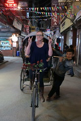 Rickshaw, Thamel, Kathmandu, Nepal (Ryo.T) Tags: nepal kathmandu thamel ネパール カトマンズ カトマンドゥ タメル