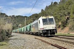 ADÉU 333 DE RENFE (Andreu Anguera) Tags: tren cereal máquina 333 253 santamargaridaielmonjos portdebarcelona castellbisbal catalunya andreuanguera