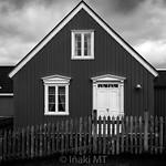Black House, White Windows - Iceland thumbnail