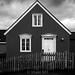 Black House, White Windows - Iceland