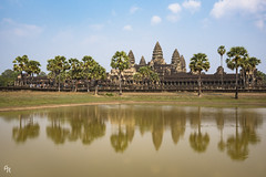 Angkor Wat (Andrea Rizzi Esk) Tags: angkor wat cambodia tresure historical khemr empire ancient elder building architecture water reflex exotic travel asia colorful temple