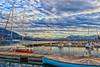 Hiver sur le port - Le bourget du lac - Savoie (2018) (gerardcarron) Tags: bateaux port boats harbor calme canon80d ciel cloud eau hiver lac lacbourget landscape morning nuages paysage savoie water winter