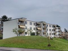 Apartments (sander_sloots) Tags: apartments flatgebouw zwitserland switzerland architecture architectuur block flats niederuster uster flat grass gras