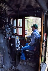 The hogger seat (KD Rail Photography) Tags: trains railroads transportation 280 tennesseevalley tennesseevalleyrailroad sr630 southernrailway sou630 servethesouth manandmachine steam steamlocomotive 21centurysteam chattanooga tennessee