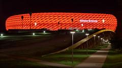 Allianz Arena Munich (redfurwolf) Tags: munich allianzarena night nightphotography darkness football germany bavaria landscape redfurwolf sony sonyalpha sonydeutschland a7rm3 sal70200f28gii architecture building captureonepro11