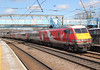 Virgin Trains , East Coast . 82228  . Alexandra Palace Station , North London . Wednesday 21st-March-2018 . (AndrewHA's) Tags: railway train alexandra palace station virgin east coast dlv driving brake van luggage 82228 ecml 1a18 leeds kings cross london express passenger service metrocammell