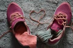 socks (ksenijaJ / madScientist) Tags: down sneakers socks heart