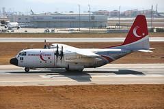 63-13189 Ataturk 29/08/15 (Andy Vass Aviation) Tags: ataturk turkishairforce c130 6313189 turkishstars