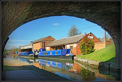 Braunston Chandlers (Jason 87030) Tags: braunstonchandlers building shop scene view boats narrowboats bridge brickwork sony alpha a6000 ilce nex lens tag beneath under jasmine walk nice pleasant ducks water narrowboat blue sky sunny march spring local northants northamptonshire