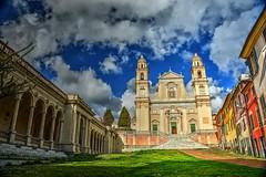 Basilica S.Stefano (giannipiras555) Tags: chiesa nuvole colori