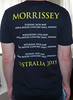 #2933B Morrissey - Australia 2015 Tour (Minor Thread) Tags: minorthread tshirtwars tshirt shirt vintage rock concert tour merch morrissey moz thesmiths australia 2015 black