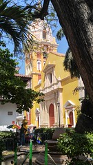 Cartagena (Tomas Belcik) Tags: church interior columns cathedral cartagena colombia oldtown streets lanes colonial architecture colonialarchitecture churches