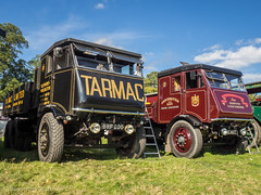 Shrewsbury Steam Rally 2017 (Ben Matthews1992) Tags: shrewsbury salop shropshire england britain old vintage historic preserved preservation vehicle transport haulage steam traction engine sentinel s4 s6 stype wagon waggon lorry truck commercial tipper classic
