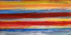 Red beach (Peter Wachtmeister) Tags: artinformel art mysticart modernart popart artbrut phantasticart minimalart acrylicpaint abstract abstrakt surrealismus surrealism hanspeterwachtmeister