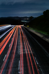rough road ahead (pbo31) Tags: bayarea california nikon d810 color april spring 2018 boury pbo31 sunol highway overpass infinity alamedacounty 680 traffic lightstream roadway motion night dark black red