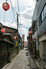 alley of Gigolo (kasa51) Tags: alley sign bar pole wire gekkoji yamanashi japan 月江寺 路地 看板 lantern ジゴロ