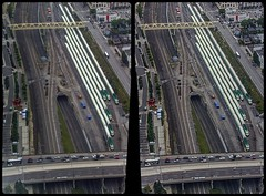 Toronto tracks 3-D / CrossView / Stereoscopy (Stereotron) Tags: toronto to tdot hogtown thequeencity thebigsmoke torontonian railway tracks train gleise rangierbahnhof north america canada province ontario crosseye crossview xview pair freeview sidebyside sbs kreuzblick 3d 3dphoto 3dstereo 3rddimension spatial stereo stereo3d stereophoto stereophotography stereoscopic stereoscopy stereotron threedimensional stereoview stereophotomaker stereophotograph 3dpicture 3dimage hyperstereo twin canon eos 550d yongnuo radio transmitter remote control synchron sigma zoom lens 70300mm tonemapping raw