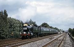 GWR 2-6-2T 6106 leaving Hanwell (TrainsandTravel) Tags: england angleterre standardgauge steamtrains voienormale trainsavapeur dampfzug normalspur britishrailwayswesternregion hanwell gwr 262t 61xx 6106