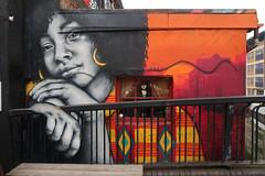 """""""Waiting for You"""" Yara Shahidi by Zabou (scats21) Tags: zabou streetart"""