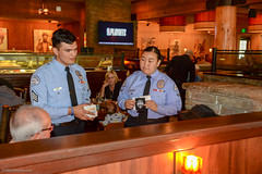 20180412-CJTipACop-LAPD-Devonshire-Cadets-JDS_0329 (Special Olympics Southern California) Tags: athletes claimjumper devonshire giving lapd letr northridge restaurant socal specialolympics specialolympicssoutherncalifornia tipacop fundraiser