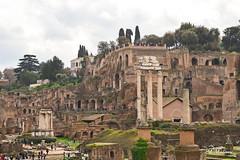 Roman Forum, Rome (M Malinov) Tags: romanforum roma rome roman forum italy italia lazio monument ruin италия рим риме форум столица city capital apennine
