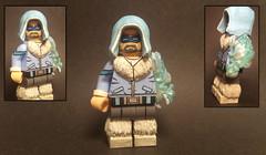 Custom Flash Villains 5: Captain Cold (Brickophilia) Tags: custom lego minifigure dc comics villain rogues flash captain cold leonard snart