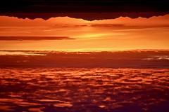 Inverted World (Bakuman3188) Tags: clouds dawn sundown sky sea water landscape landschaft sonnenuntergang iceland island アイスランド 太陽 雲 自然 風景 海 空 赤 旅行 canon canon80d canonphotography inverted world sunset umgekehrte welt