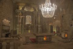 La Chiesa di sale / Salty church (Wieliczka salt mine, Krakow, Poland) (AndreaPucci) Tags: wieliczka salt mine poland krakow andreapucci church stkingaschapel