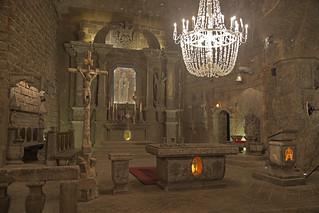 La Chiesa di sale / Salty church (Wieliczka salt mine, Krakow, Poland)