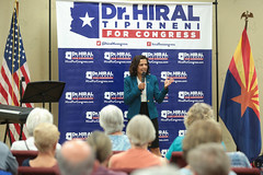 Hiral Tipirneni (Gage Skidmore) Tags: hiral tipirneni united states congress congressional campaign surprise community center arizona town hall