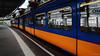 Wuppertal suspension railway (frankdorgathen) Tags: urban alpha6000 sony1018mm weitwinkel wideangle perspektive perspective traffic transport transportation tram cable railway suspension schwebebahn wagon