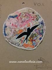 Fly nr30 (Canela Cheia) Tags: fly voa andorinha artesanato brooch criatividade criativity freedom handicraftbrooches handmade liberdade pregadeira slowfashion swallows