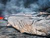 Wavy Crust (Fotografie mit Seele) Tags: ertaale danakildepression afar triangle volcano vulkan äthiopien ethiopia lava eruption red smoke liquid crust kruste pahoehoe