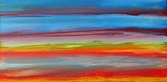 a quiet day on the beach .1 (Peter Wachtmeister) Tags: artinformel art mysticart modernart popart artbrut acrylicpaint abstract abstrakt surrealismus surrealism hanspeterwachtmeister
