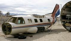 MU-2 | N112SK | El Mirage | 20040216 (Wally.H) Tags: mitsubishi mu2 n112sk aviationwarehouse elmirage