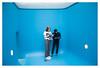 Submarine reading (leo.roos) Tags: swimmingpool 2016 leandroerlich museumvoorlinden wassenaar a7s fedmikron фэдмикрон helios893019 russianlens sovietglass fixedlens adaptedtoemount darosa leoroos xif